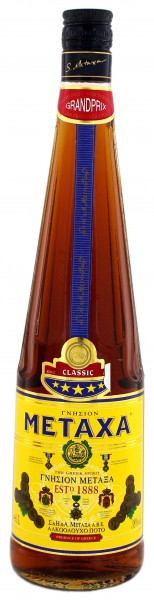 Metaxa 5* Stern 'The Greek Spirit' 1,0 Liter 38%
