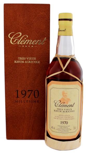Clement Rhum Vieux Vintage 1970, 0,7 L, 44%