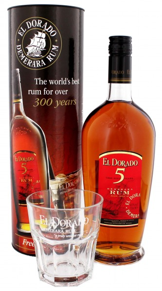 El Dorado Rum 5 Years Old 0,7L 40%