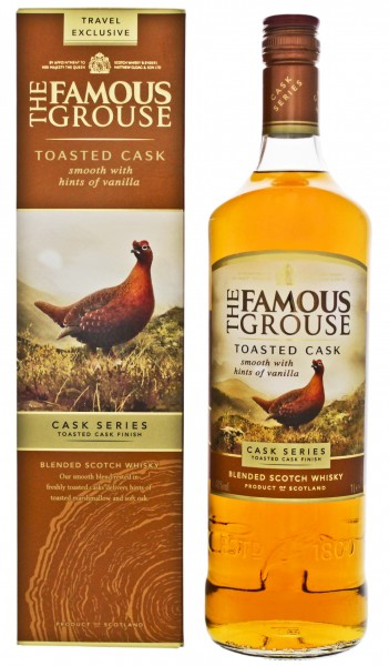 Famous Grouse Blended Whisky Toasted Cask 1,0L 40%