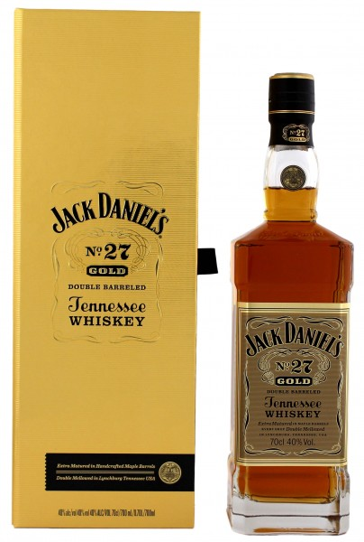Jack Daniels Tennessee Whiskey No. 27 Gold