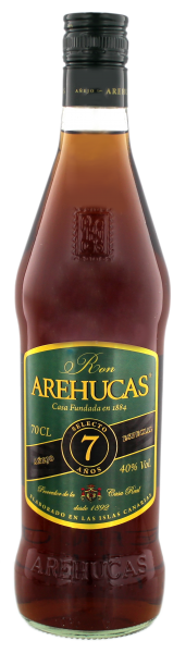 Arehucas Ron Club 7 Years Old, 0,7 L, 40%