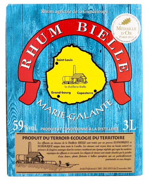 Bielle Rhum Blanc Agricole 3,0L 59%