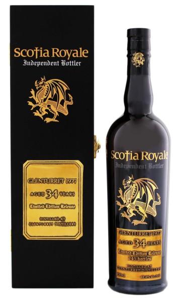 Scotia Royale Glenturret 34YO 1977 Limited Edition 0,7L 48,4%