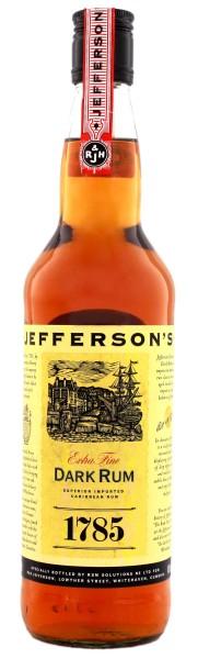 Jefferson's 1785 Dark Rum, 0,7 L, 40%