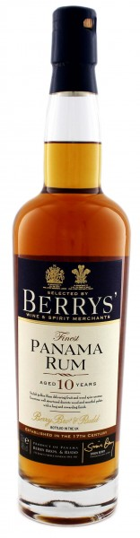 Berry's Own Finest Panama Rum 10 Years2000