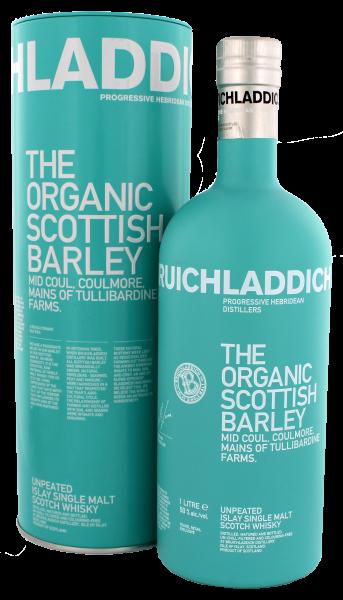 Bruichladdich The Organic Scottish Barley Malt Whisky 1,0 L, 50%