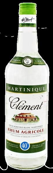Clement Rhum Agricole Blanc, 1 L, 40%