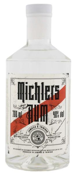 Michlers Jamaica & Trinidad Artisanal White Rum 0,7L 40%