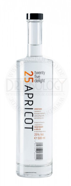 Twenty Five Delight 25 Apricot, 0,5 L, 25%