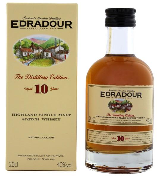 Edradour 10 Jahre Malt Whisky, 0,2L