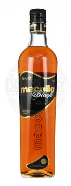 Macollo Rum Black 12 Years Old
