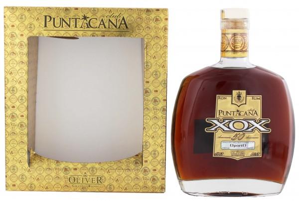 Puntacana XOX Rum 50 Aniversario Malt Whisky Finish