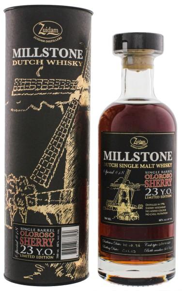 Zuidam Millstone Whisky Oloroso Cask 23 Jahre Special No. 18 0,7L 46%
