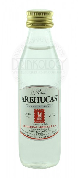 Arehucas Rum Carta Blanca Miniature