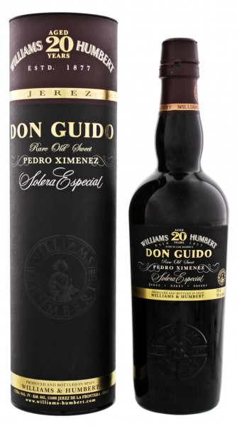 Don Guido Sherry Solera Especial PX 20 Jahre 0,5L 18%