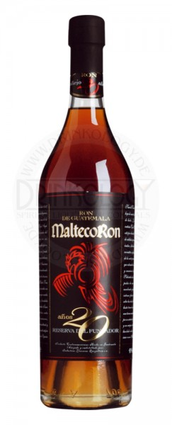 Malteco Rum 20 Years Old 0,2L 41%