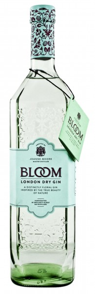 Greenall's Bloom London Dry Gin 1,0 Liter 40%