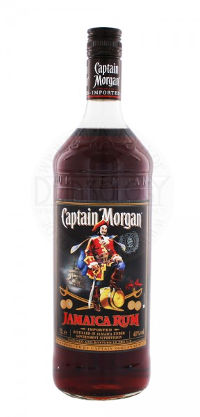 Captain Morgan Rum Black Label, 1 L, 40%