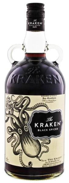 The Kraken Black Spiced 1,0L 40%