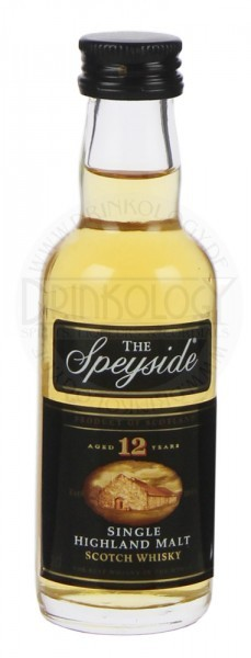 The Speyside Single Malt Whisky 12 Years Old Miniatur 0,05L 40%