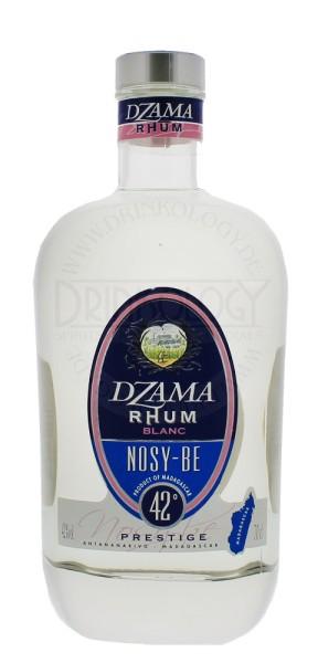 Dzama Rhum Nosy-Be Blanc Prestige 0,7L 42%