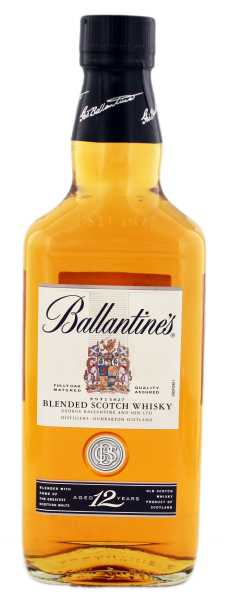 Ballantines Blended Scotch Whisky 12 Jahre, 0,5 L, 40%