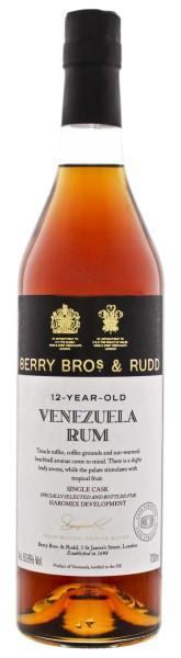 Berry Bros & Rudd Venezuelan Single Cask Rum 12 Jahre 0,7L 60,6%