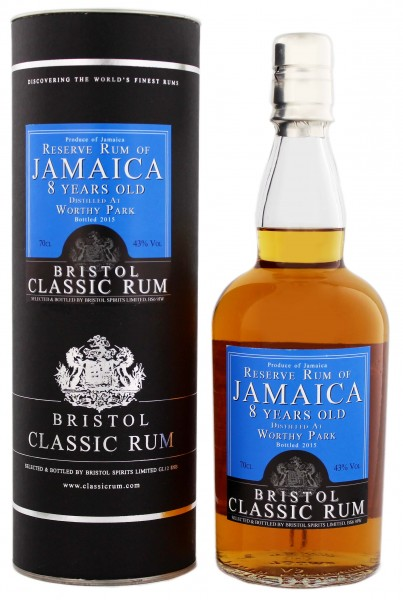 Bristol Reserve Rum of Jamaica Worthy Park 8YO 0,7L 43%