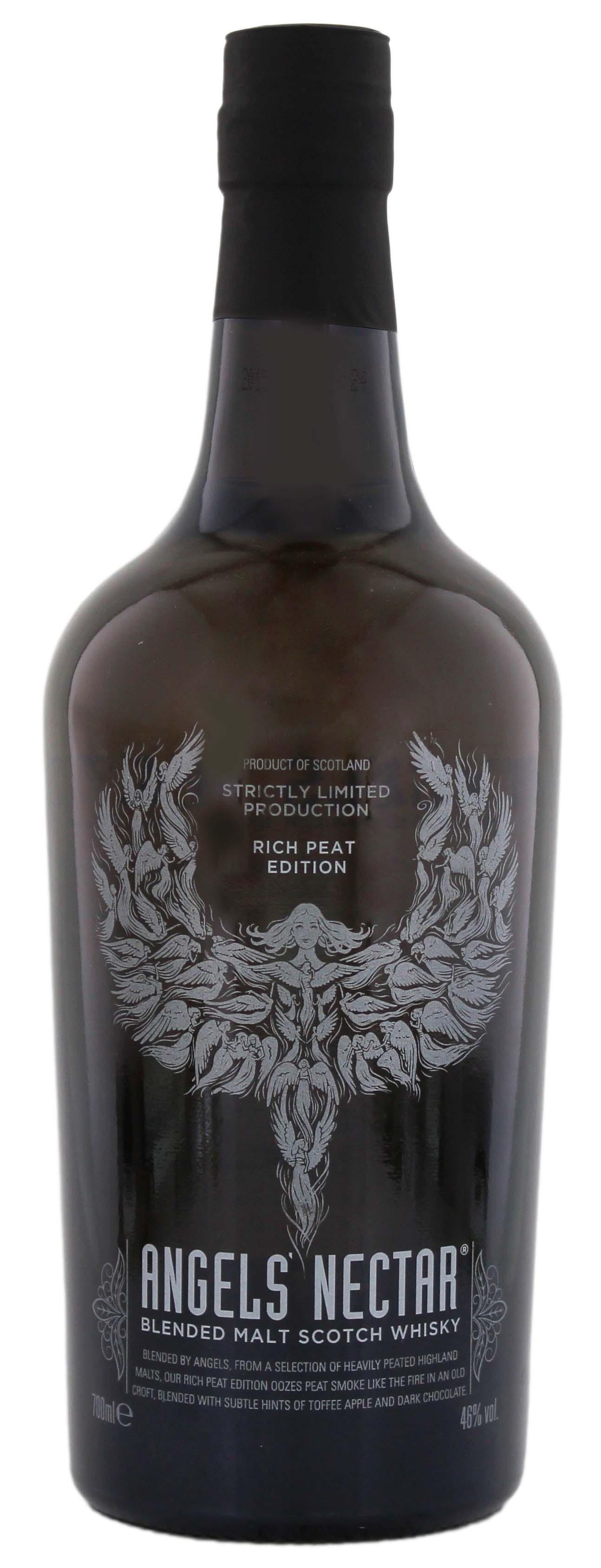 Angel´s Nectar Blended Malt Whisky Rich Peat Edition 0,7L 46%