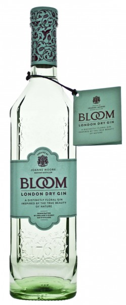 Greenall's Bloom London Dry Gin, 0,7 Liter, 40%