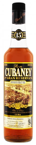 Cubaney Rum Gran Reserva 15 Years Old, 0,7 L, 38%