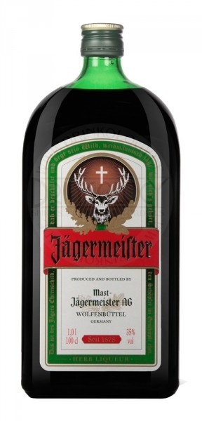 Jägermeister Herbal Liqueur, 1 L, 35%