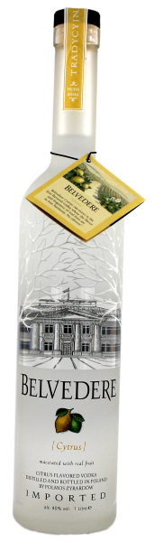 Belvedere Vodka Cytrus, 1 L, 40%