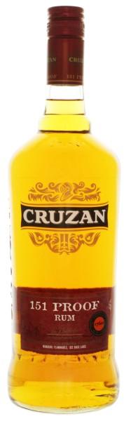 Cruzan 151 Proof Rum 1,0L 75,5%