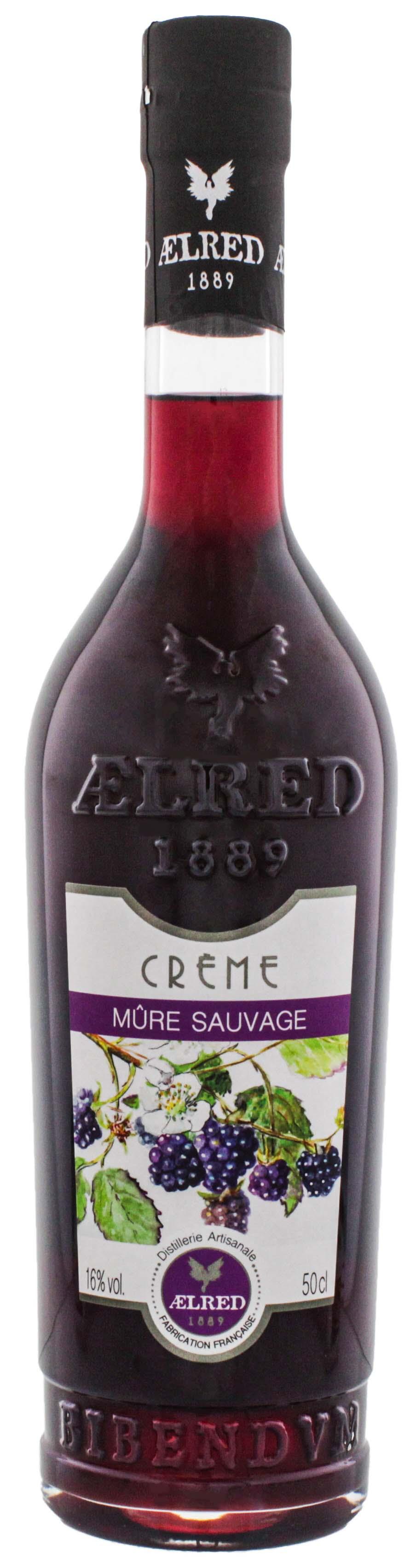 Aelred liqueur 1889 Creme de Mûre Sauvage  (Brombeere) 0,5L 16%