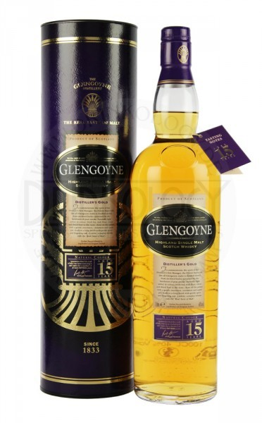 Glengoyne Single Malt Whisky 15 Years Old