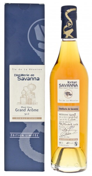 Savanna Lontan Rhum Grand Arome Single Cask 9 Jahre 2007/2016 0,5L 46%