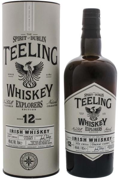 Teeling Explorers Edition 12 Yo Cognac Finish 0,7L 46%