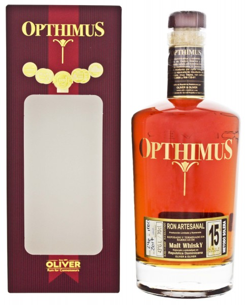 Opthimus Rum 15 Jahre Malt Whisky Finish 0,7L 43%