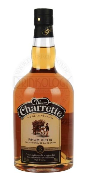 Charrette Rhum Traditional Vieux Vielli en Fut 0,7L 40%