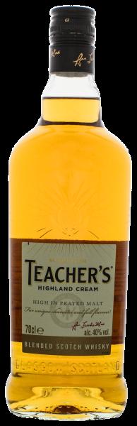 Teachers Highland Cream Blended Scotch Whisky 0,7L 40%