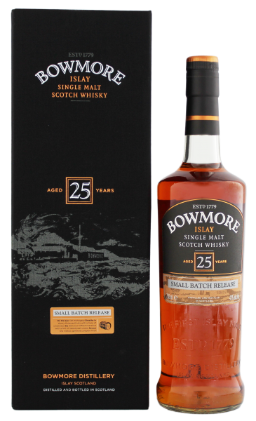 Bowmore Single Malt Whisky 25 Jahre 0,7L 43%