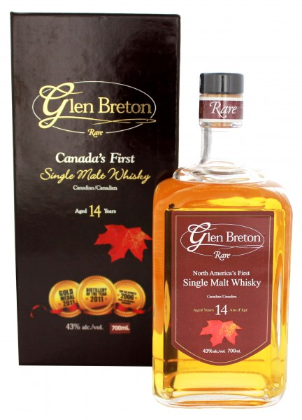 Glen Breton 14 Jahre Single Malt Whisky 0,7L 43%
