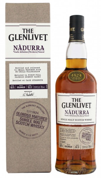 The Glenlivet Nadurra First Fill Oloroso Cask 0,7L 60,3%