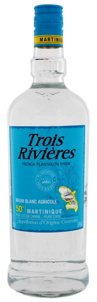 Trois Rivieres Rhum Agricole Blanc, 1L, 50%