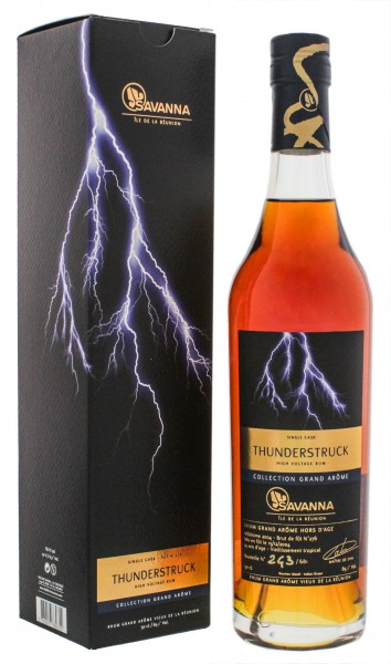 Savanna Collection Rhum Vieux Grand Arome Thunderstruck Single Cask 14 Jahre 0,5L 65,1%