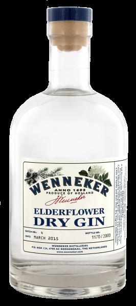 Wenneker Elderflower Dry Gin 0,7L 40%