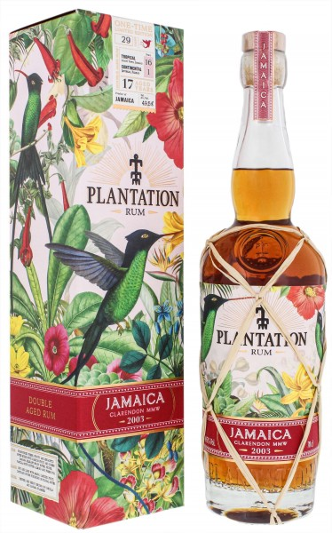 Plantation Rum Jamaica 2003 One Time Limited Edition 0,7L 49,5%