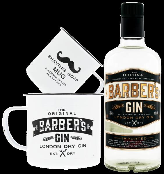 Barbers Gin 0,7 L 40% inkl. 1x Barbers Tasse